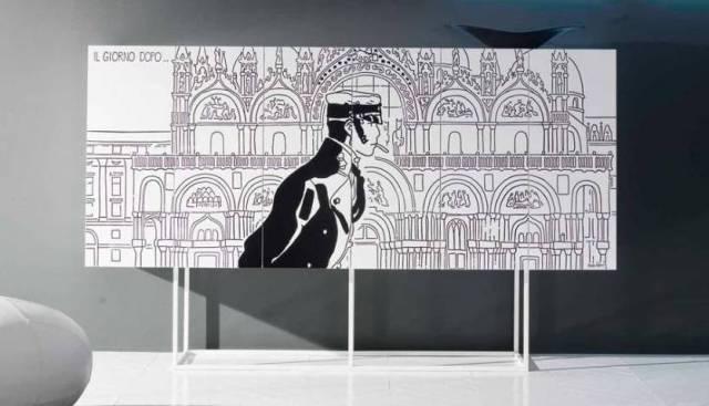 Corto Maltese Mobili Firmati Hugo Pratt : Salone del mobile mobili corto maltese