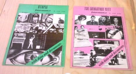 """Fotoromanzi 'Utopia' e 'La lotta per la casa', Gruppo Strum (1972) realizzati per la mostra """"Italy: the New Domestic Landscape"""", MOMA New York"""