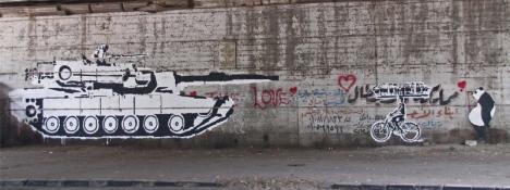 Tank Bike (Ganzeer & Sad Panda)
